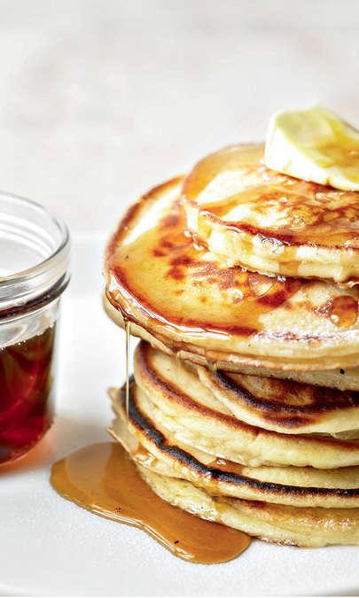 Pancake con fiocchi d'avena
