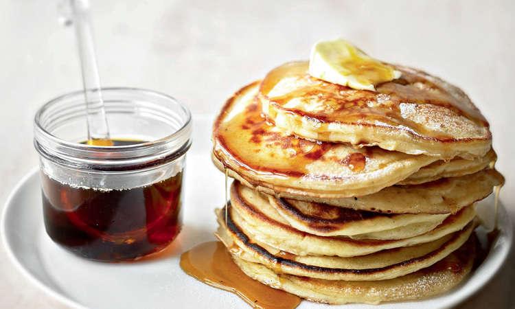 Visual pancake con fiocchi d avena
