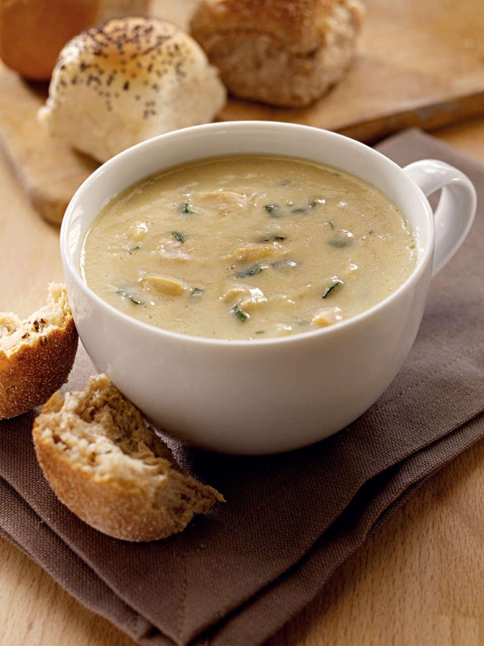 Zuppa rapida di verdure con orzo