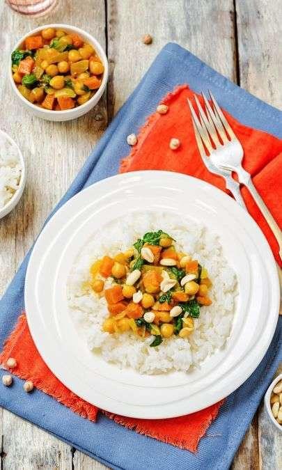Curry di patate dolci