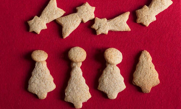 Biscotti al farro di Natale