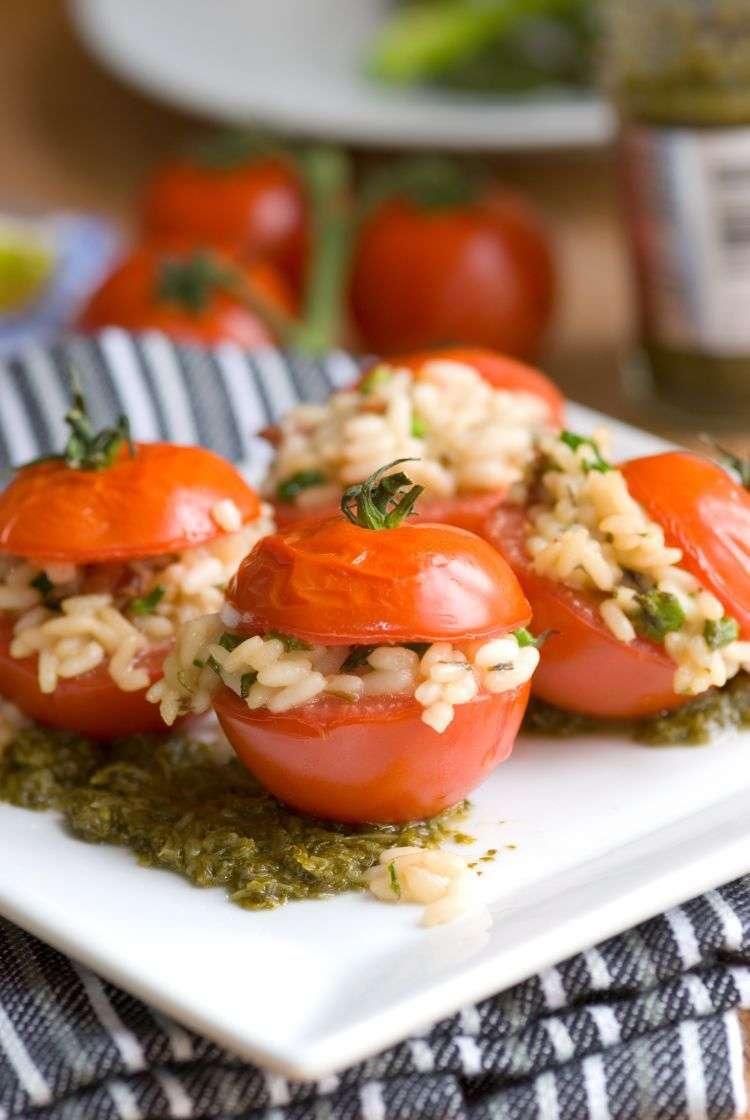 Pomodori ripieni di risotto