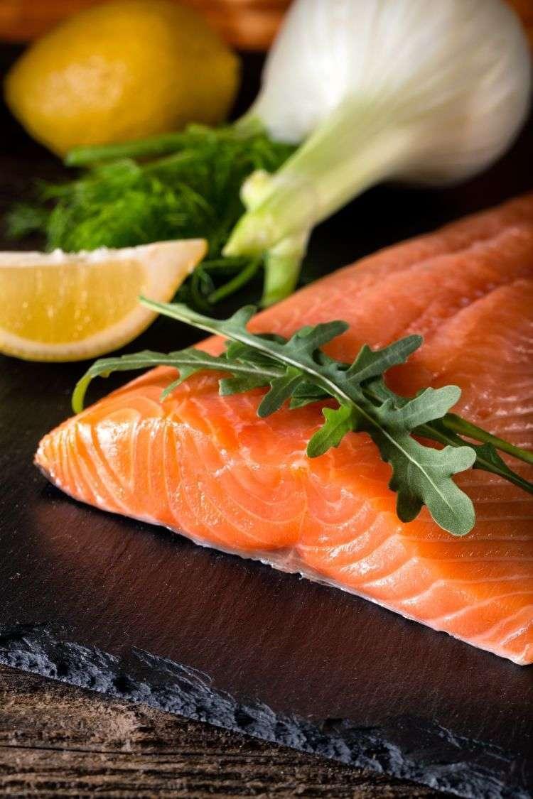 Risotto al salmone e finocchio