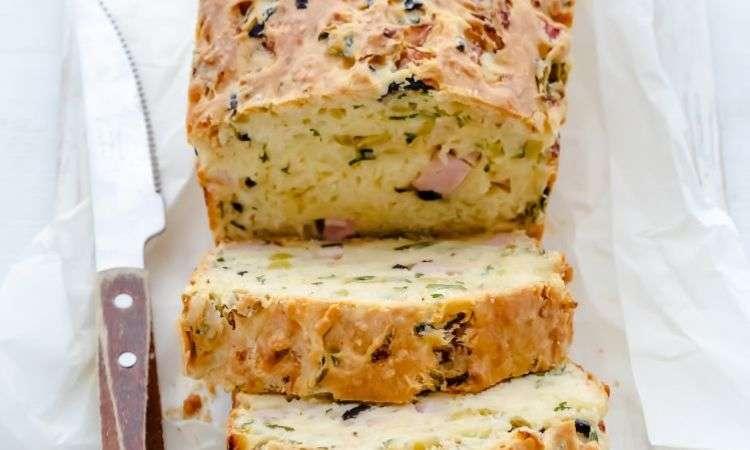 Torta salata alle olive