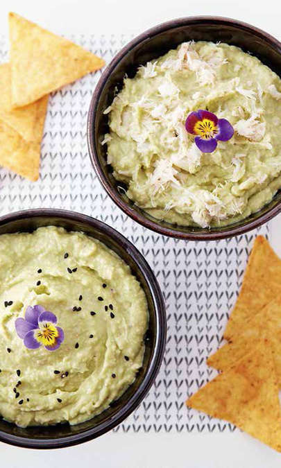 Guacamole con Cooking Chef Gourmet