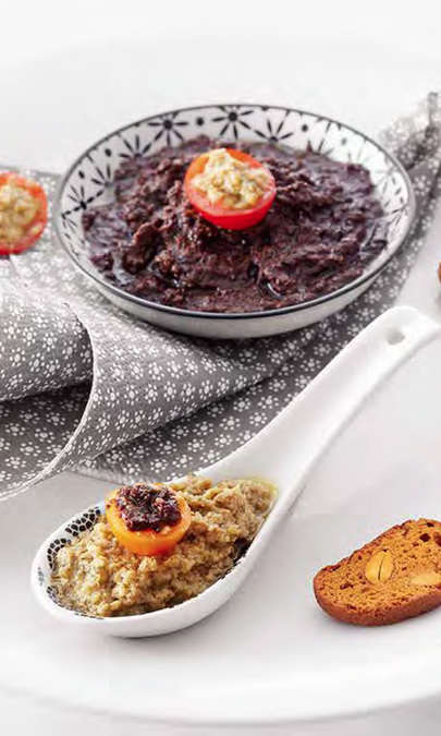 Tapenade con Cooking Chef Gourmet