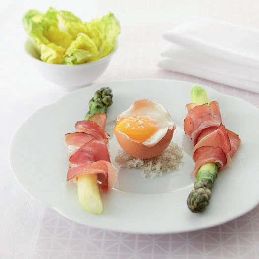 Uovo in camicia con Cooking Chef Gourmet