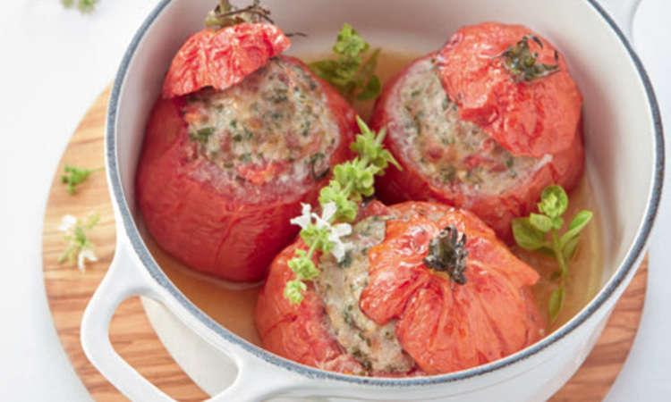 Pomodori ripieni con Cooking Chef Gourmet