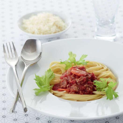 Spaghetti alla bolognese con Cooking Chef Gourmet