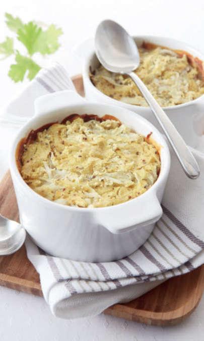 Gratin di patate alla crema di soia