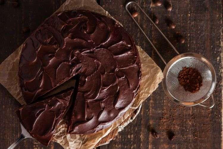 Torta soffice al cioccolato