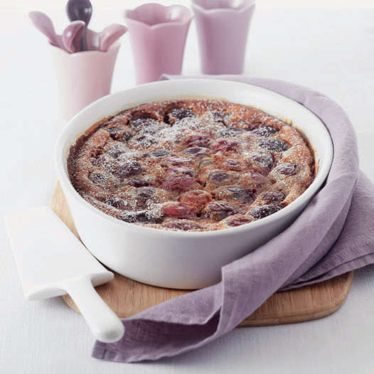Clafoutis alle ciliegie con Cooking Chef Gourmet