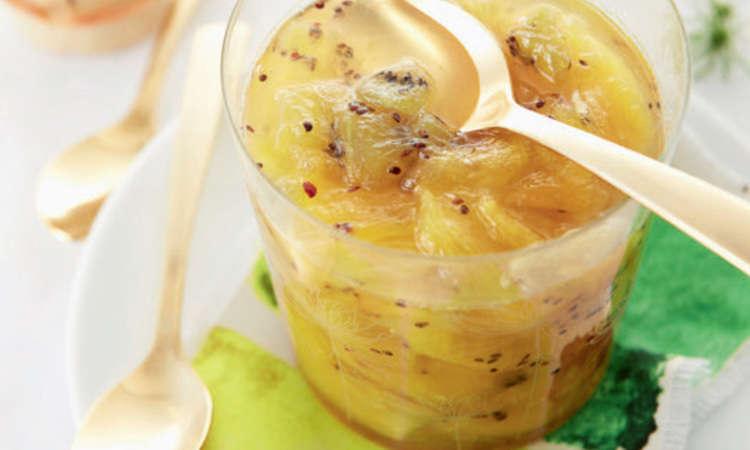 Confettura di ananas e kiwi