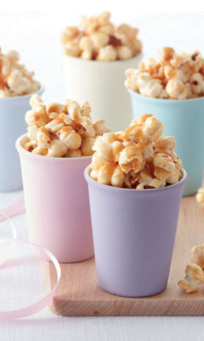 Pop-corn al caramello
