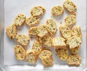 Cantucci salati ai pistacchi