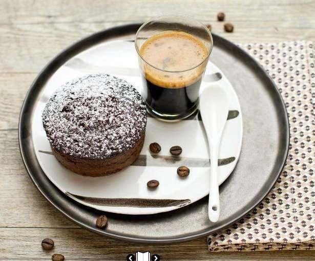 Tortini al caffè e cioccolato