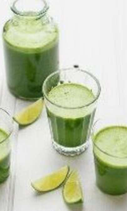 Estratto di spinaci e mela verde