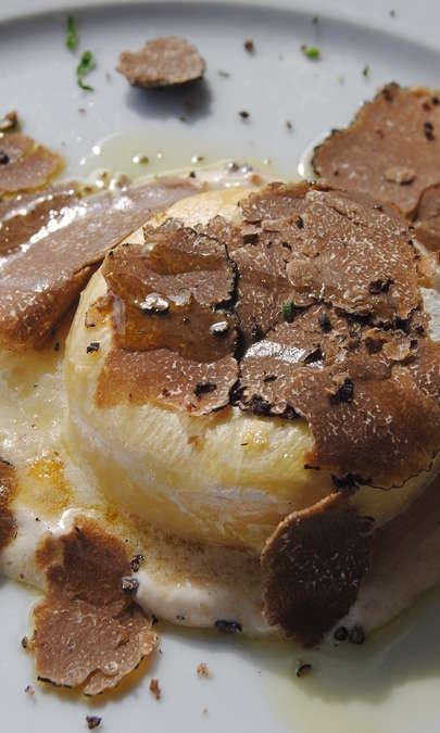 Pasta fresca con tartufo nero estivo