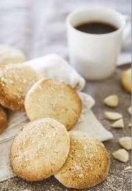 Biscotti di ceci e mandorle con farina di riso