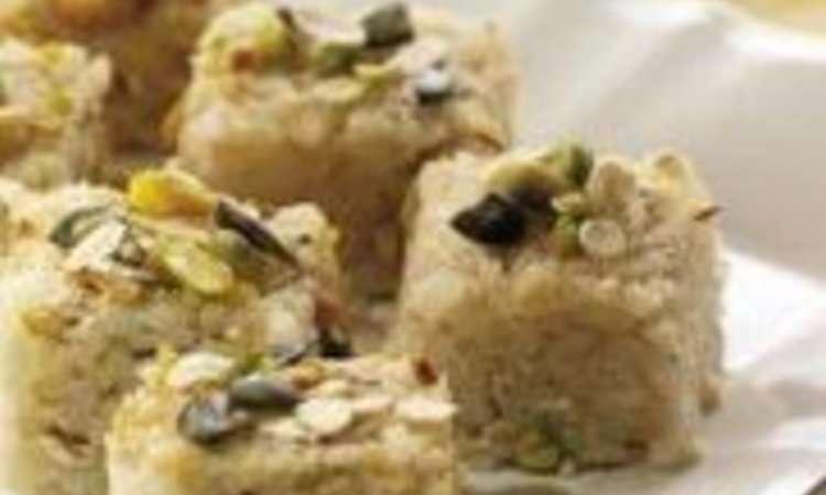 Tortino di riso al tè verde