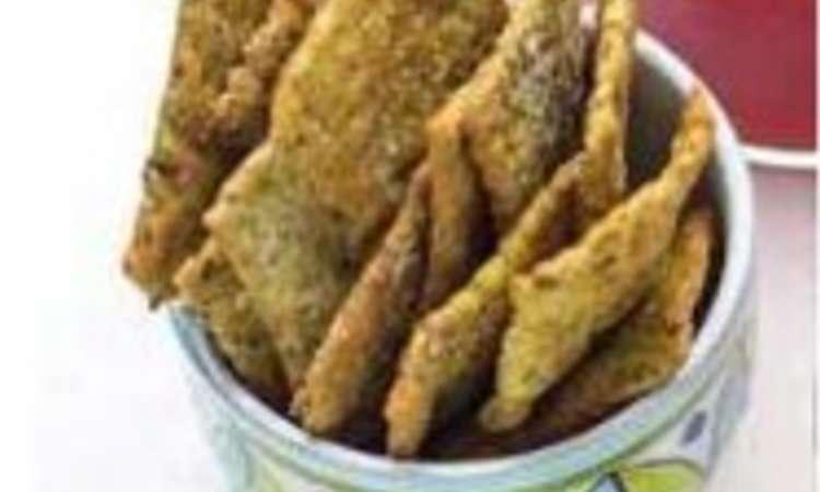 Crackers integrale ai semi