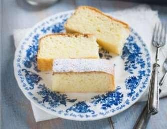 Torta al latte caldo e limone di Sonia Peronaci