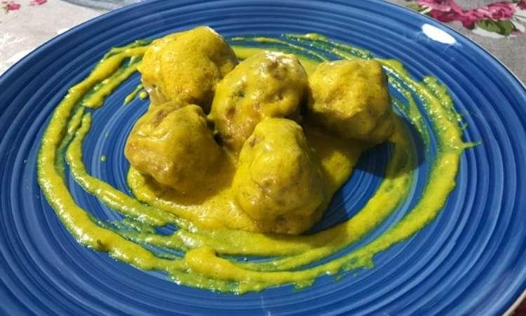 Polpettine al curry