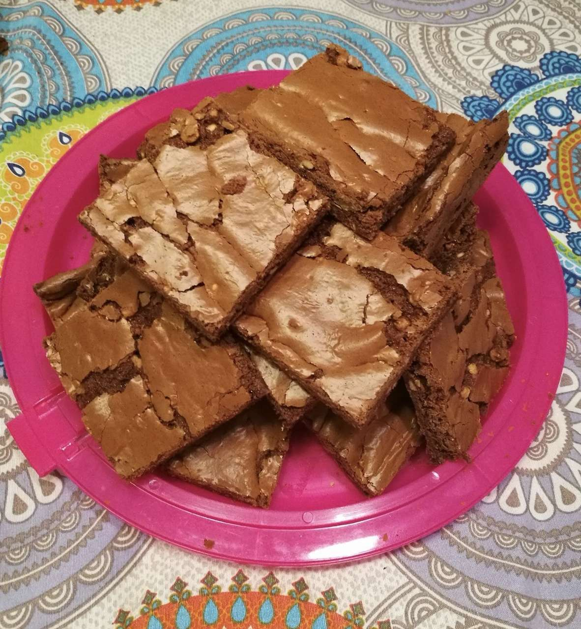 Brownies al burro di arachidi