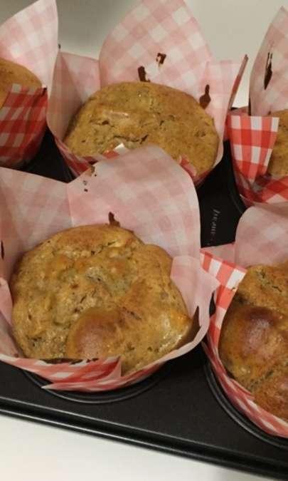 Muffin mele e Philadelphia