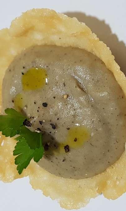 Crema patate e funghi