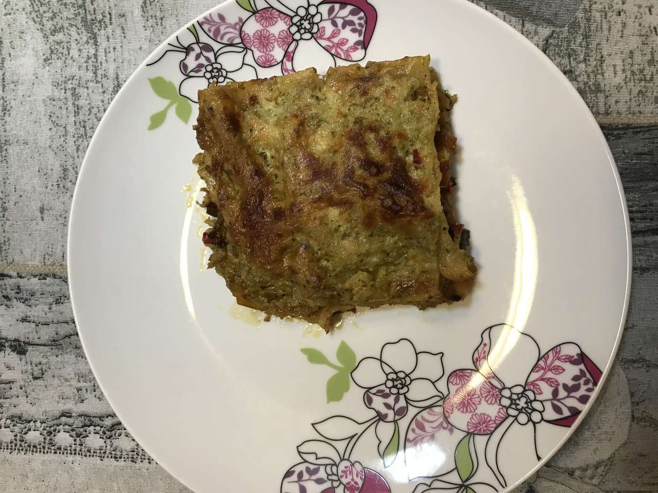 Lasagne alle verdure e pesto
