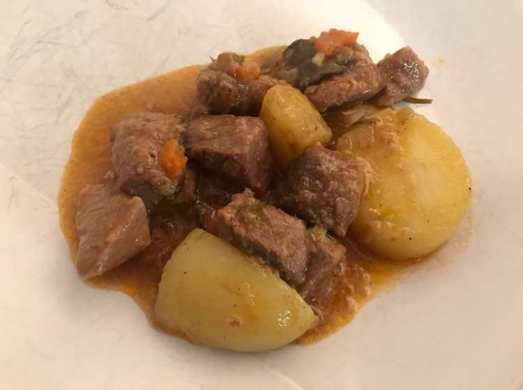 Spezzatino di manzo con le patate