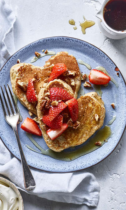 Pancake cannella e banane
