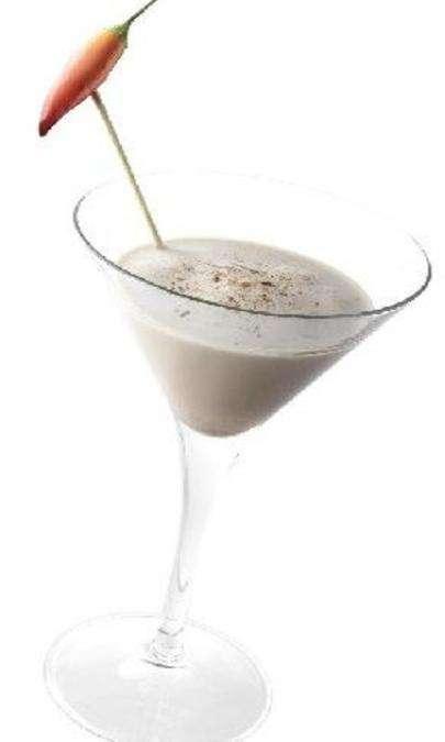 Cocktail al nero piccante