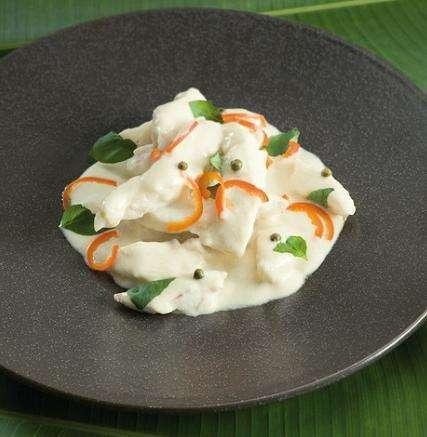 Curry di pesce alla thailandese