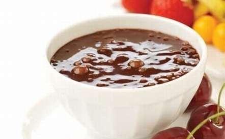 Fonduta spumeggiante al cioccolato