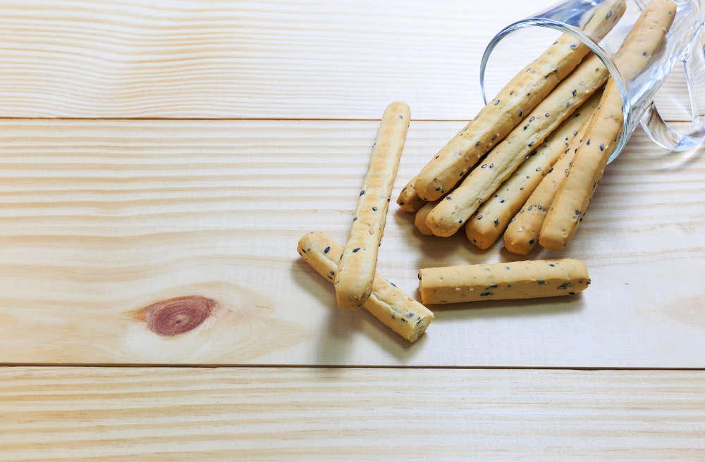 Grissini piccanti al formaggio