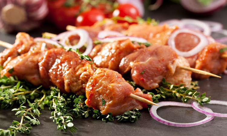 Kebab piccanti di pollo