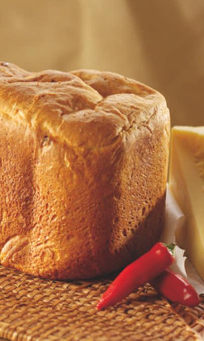 Pane ai peperoncini e formaggio