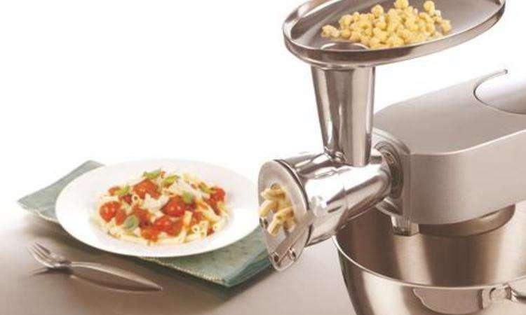 Ricetta impasto base per pasta fresca trafilata al torchio Kenwood ...