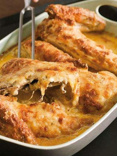 Pollo ruspante con salsa alla senape di Digione