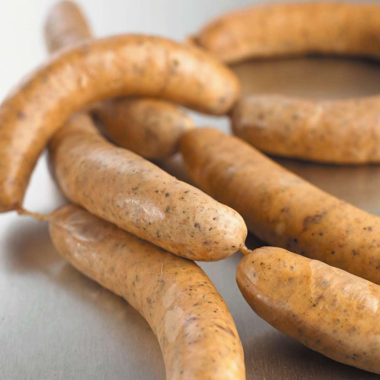 Salsicce di maiale con finocchio e paprica