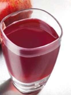 Succo di prugna e arancia