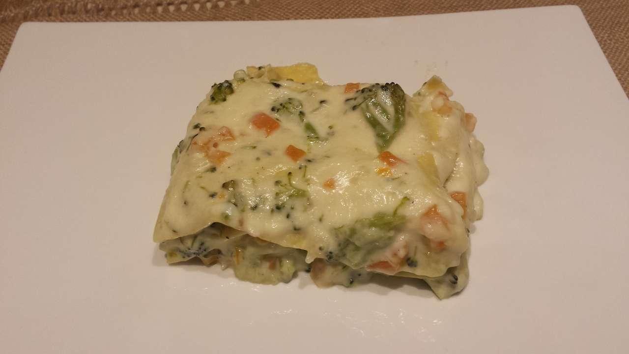 Big lasagne broccoli e carote  2