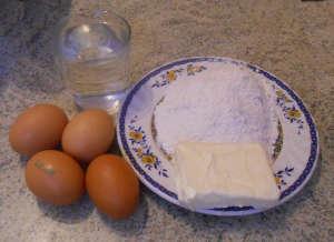 Big ingredienti pasta choux