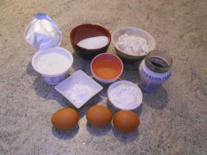Big ingredienti ciambellone