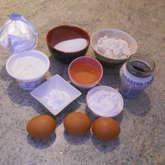 Preview ingredienti ciambellone