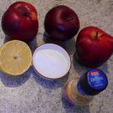 Preview ingredienti crema di mele e zenzero